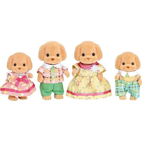 Sylvanian Families Cakebread Toy Poodle Family