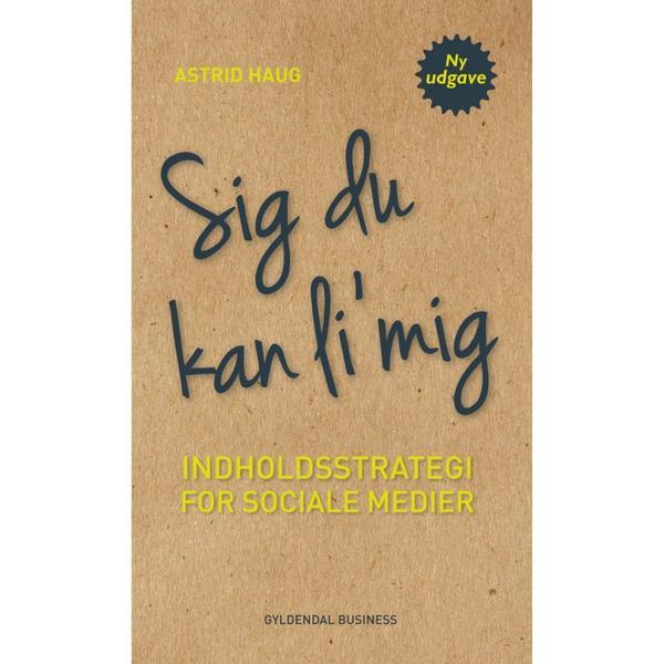 Sig du kan li mig: Indholdsstrategi for sociale medier, E-bog