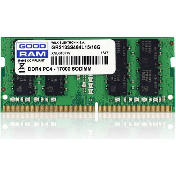 GOODRAM DDR4 2133MHz 16GB (GR2133S464L15/16G)