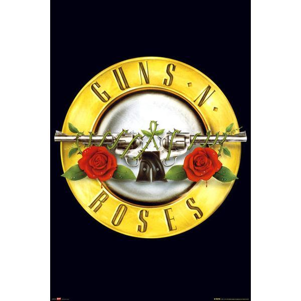 GB Eye Guns N Roses Logo Maxi 61x91.5cm Plakater