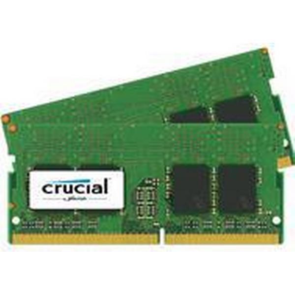 Crucial DDR4 2400MHz 2x4GB (CT2K4G4SFS624A)