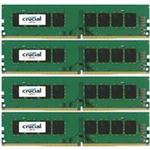 Crucial DDR4 2400MHz 4x4GB ECC (CT4K4G4WFS824A)