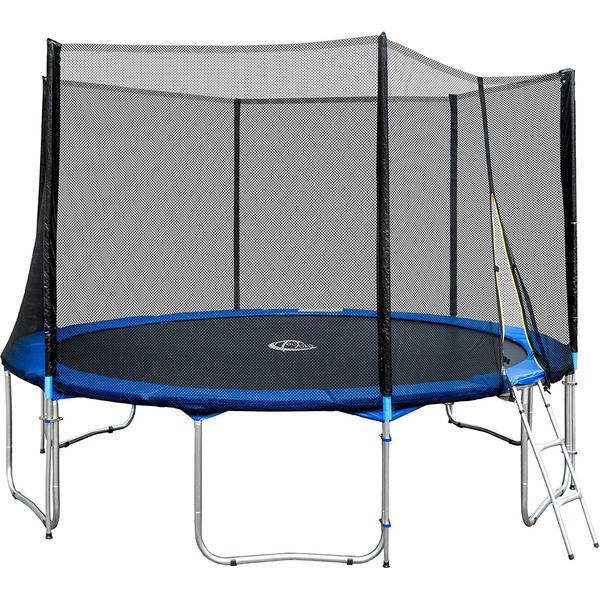 tectake Trampoline 395cm + Safety Net