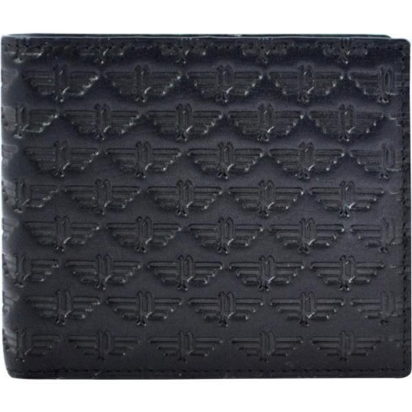 Police Wings Slim Wallet - Black/Brown (PT138121)