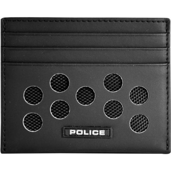 Police Hot Shots Card Case - Black (PT028257)