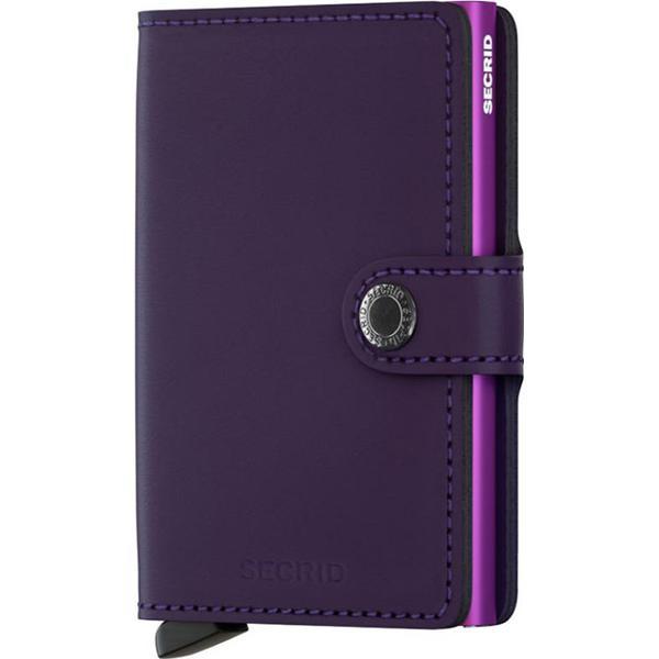 Secrid Mini Wallet - Matte Purple