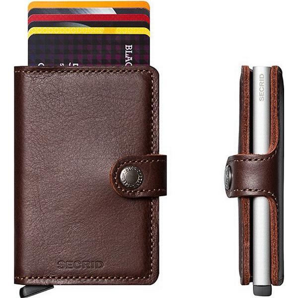 Secrid Mini Wallet - Original Dark Brown