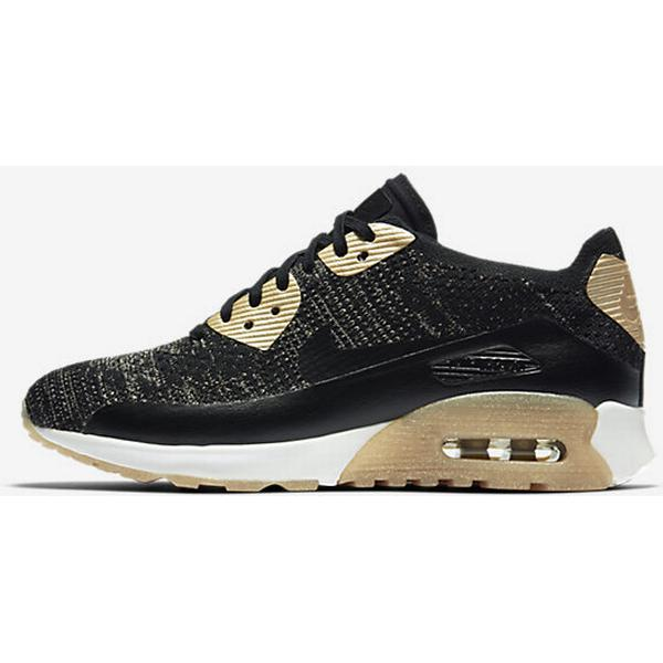 Nike Air Max 90 Ultra 2.0 Flyknit Metallic GoldBlack