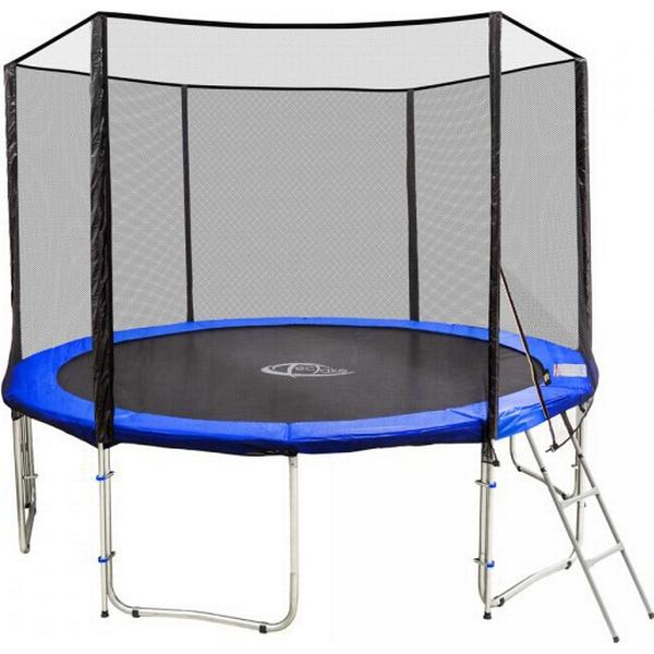 tectake Trampoline 366cm + Safety Net