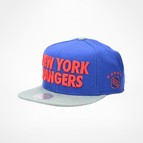 Mitchell & Ness New York Rangers Forces Snapback