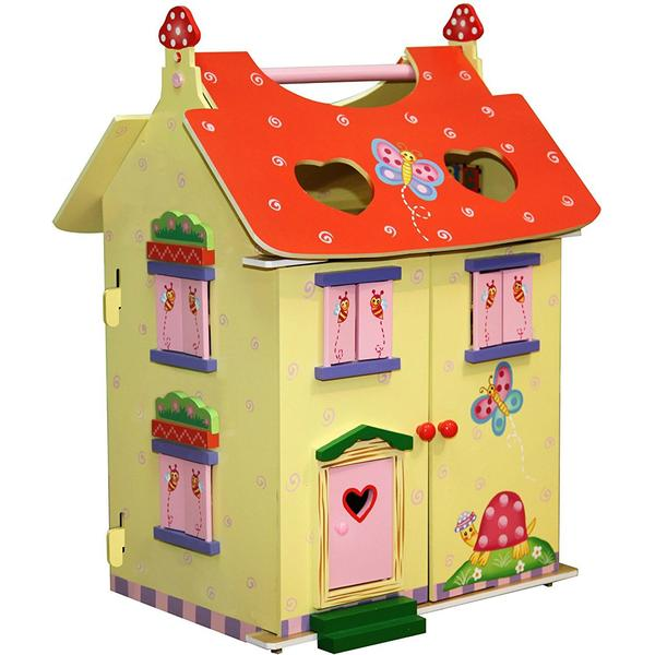 Teamson Fantasy Fields Magic Garden Hand Carry Doll House