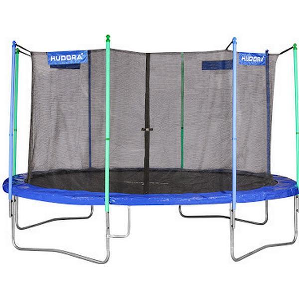 Hudora Trampoline 400cm + Safety Net