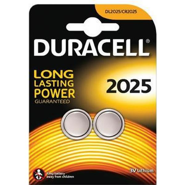 Duracell CR2025 Compatible 2-pack