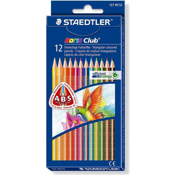 Staedtler Noris Club Colour Pencils Triangular 12-pack