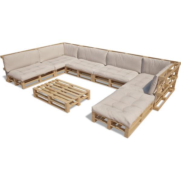 vidaXL 271777 Havesofa (modul/stk) Loungesæt