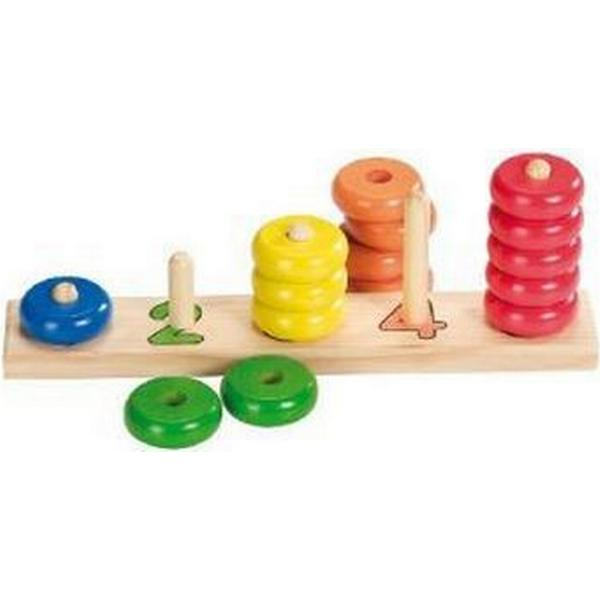 Goki Learn to Count with Wooden Rings 58510