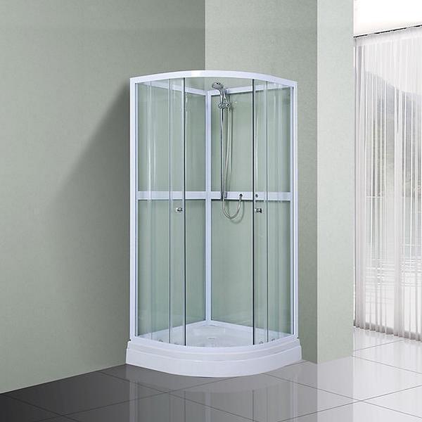 Bathlife Ideal Round Brusekabine 900x900mm