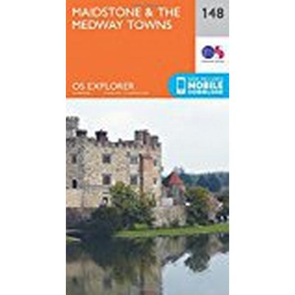 OS Explorer Map (148) Maidstone and the Medway Towns