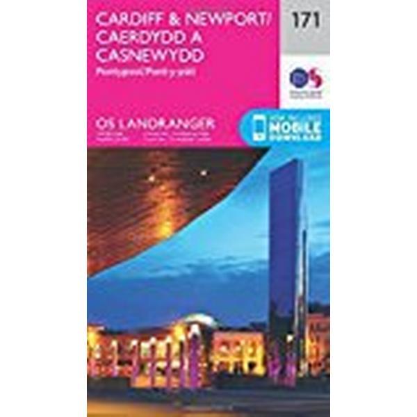 Landranger (171) Cardiff & Newport, Pontypool (OS Landranger Map)