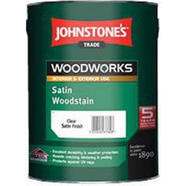 Johnstone's Trade Woodworks Woodstain Brown 2.5L