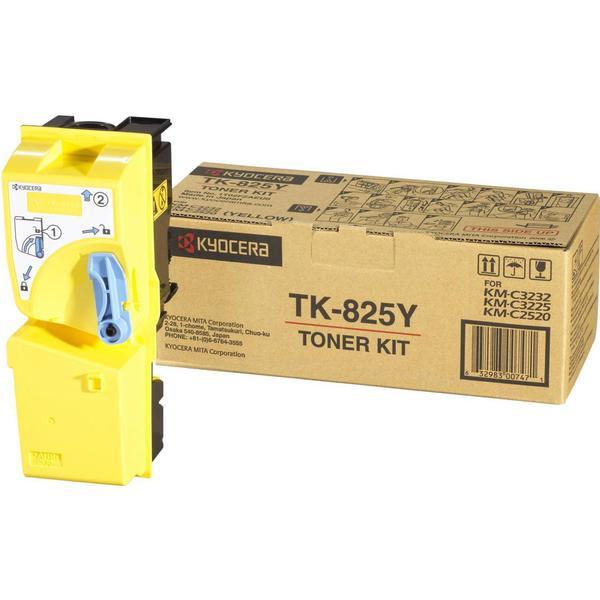Kyocera (TK-825Y) Original Toner Gul 7000 Sidor