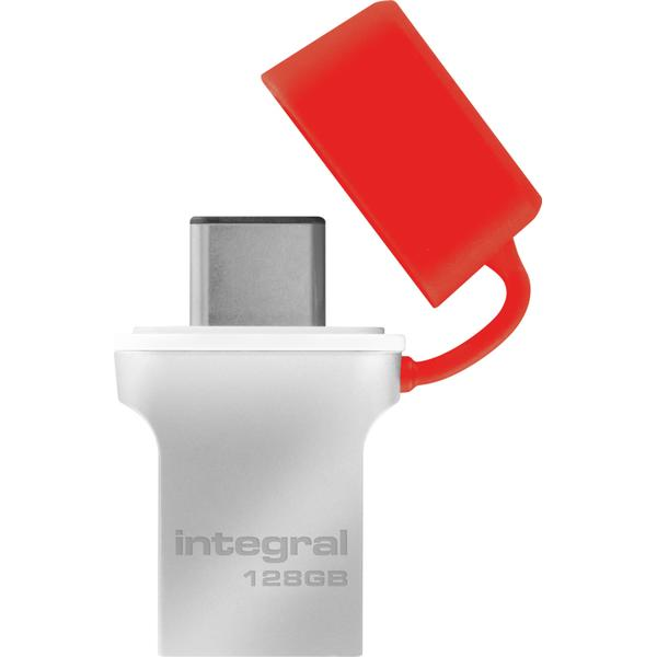 Integral Fusion 128GB USB 3.0 Type-A/Type-C