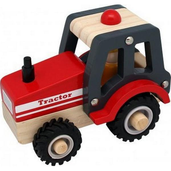 Magni Wooden Tracktor with Rubber Wheels 2438