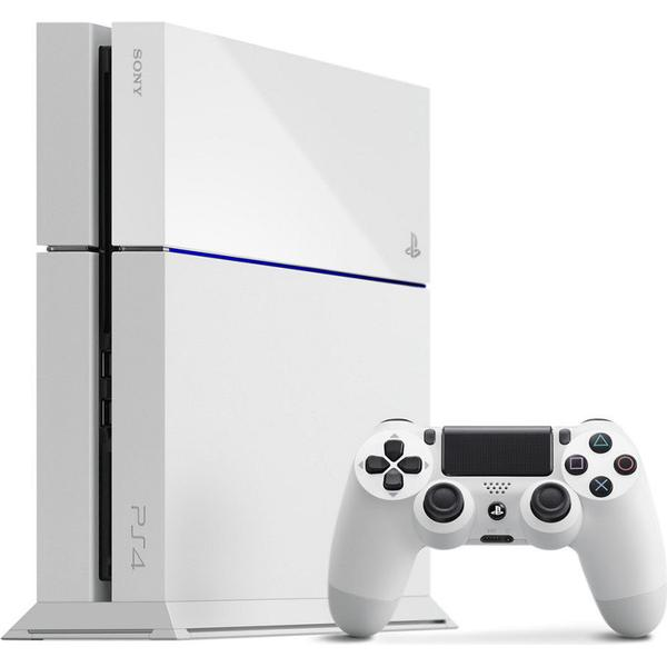 Sony PlayStation 4 500GB - White Edition