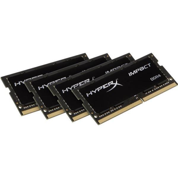 Kingston HyperX Impact Black DDR4 2400MHz 4x8GB (HX424S15IB2K4/32)