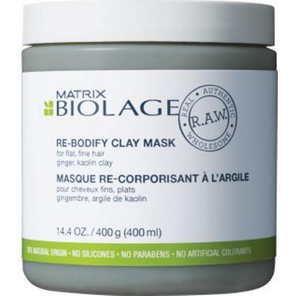 Matrix Biolage RAW Uplift Re-Bodify Clay Maske 400ml