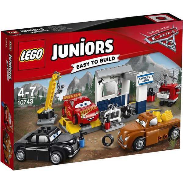Lego Juniors Smokeys Værksted 10743