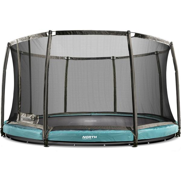 North Challenger Low 360cm + Safety Net