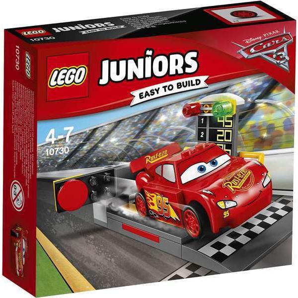Lego Juniors Lynet McQueen Affyringsrampe 10730