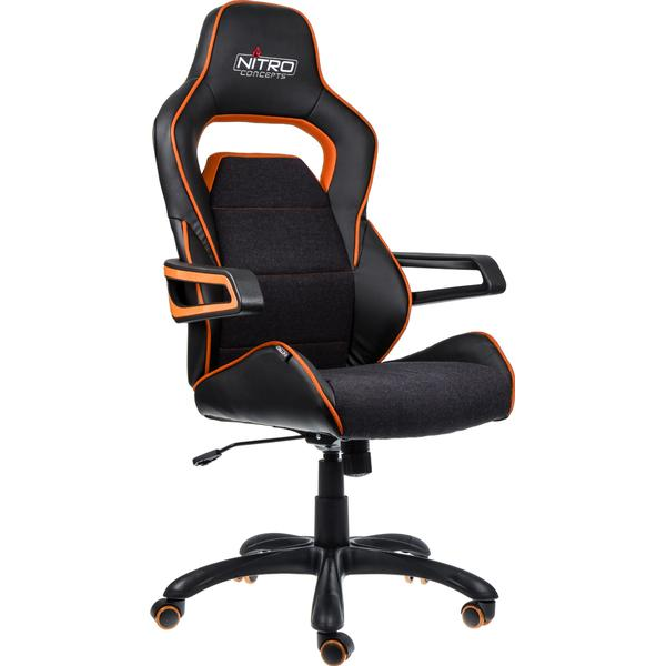 Nitro Concepts E220 Evo Gaming Chair - Black/Orange