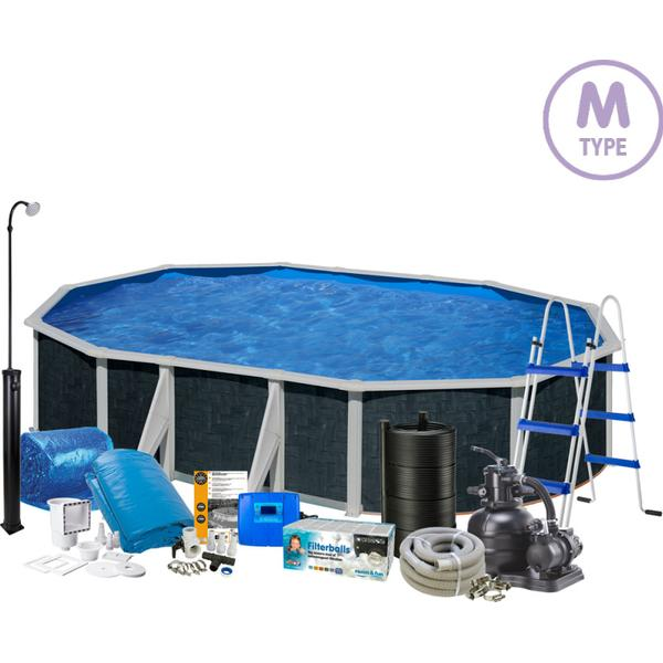 Swim & Fun Oval Pool Package 2052M