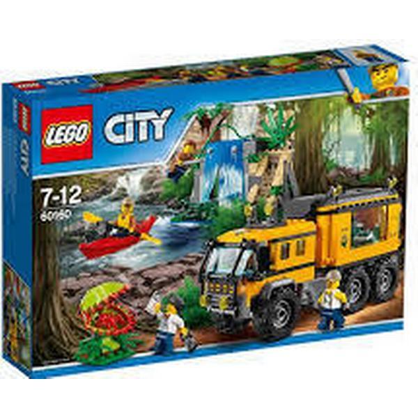 Lego City Jungle Mobilt Junglelaboratorium 60160