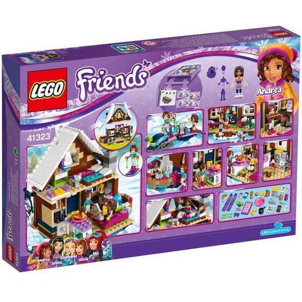 Lego Friends Skisportsstedets Hytte 41323