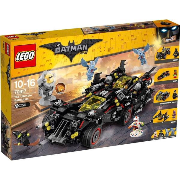 Lego The Batman Movie Den Ultimative Batmobil 70917