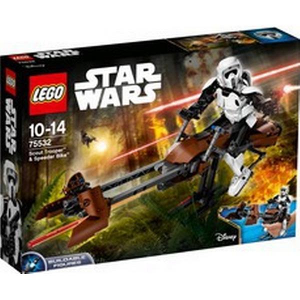 Lego Star Wars Scout Trooper og Speederbike 75532