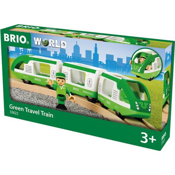 Brio Grønt Passagertog med 1 Figur 33622
