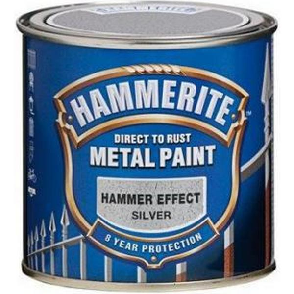 Hammerite Hammer Metal Paint Silver 0.25L