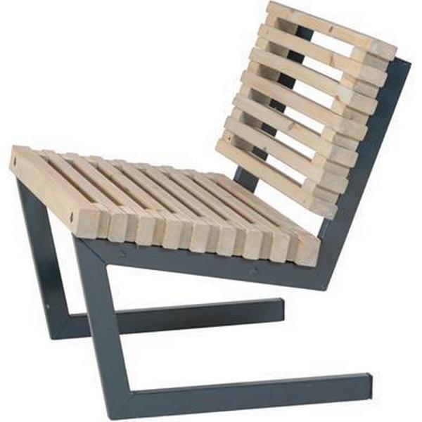 Plus Siesta 19612-12 Armløs stol