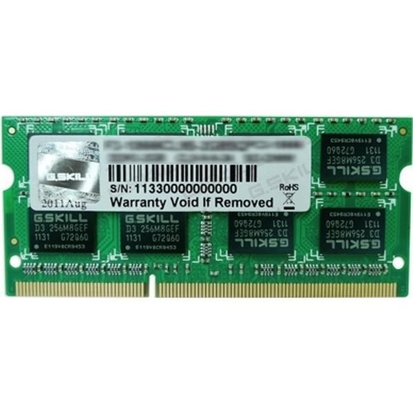 G.Skill DDR3 1600MHz 2x4GB (F3-12800CL9D-8GBSQ)