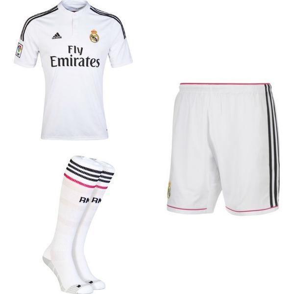 Adidas Real Madrid Hjemmebane Spillersæt 14/15 Børn
