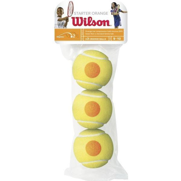 Wilson Starter Orange Tennis Balls Pack of 3