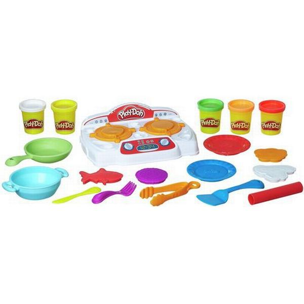 Play Doh Play Doh Kitchen Creations Sizzlin Stovetop B9014 Compare