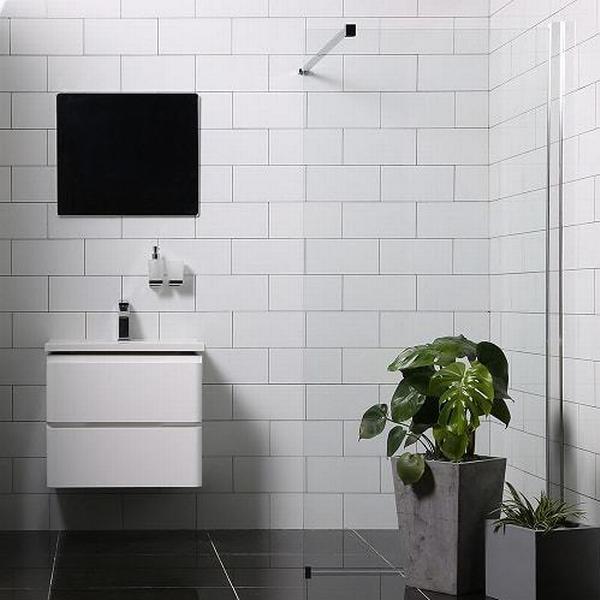 Bathlife Mångsidig Brusevæg 700mm