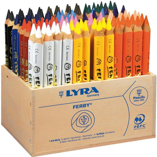 LYRA Colored Pencil Ferby Colors 96-pack