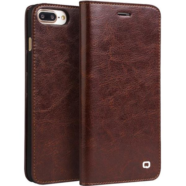 Qialino Classic Leather Wallet Case (iPhone 7)