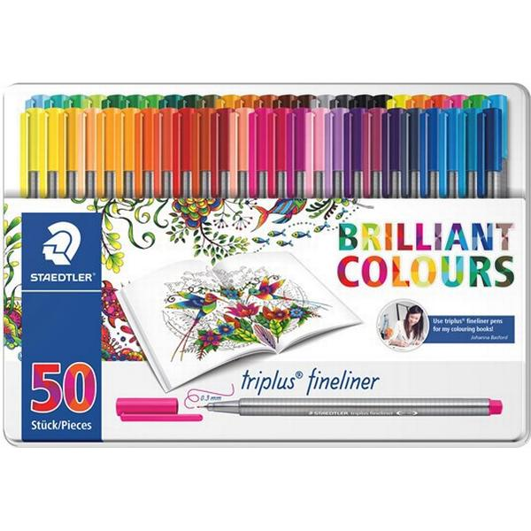 Staedtler Triplus Fineliner Color Pen 50-pack